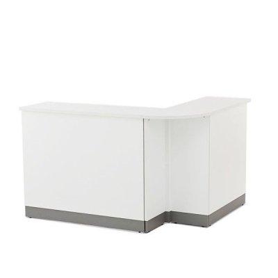 画像1: ノルム ハイカウンター W900×D450 ダーク 木製 業務用 受付カウンター 事務室 受付 Z-SHHC-900DB
