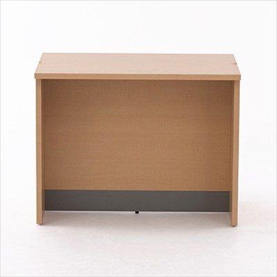 画像3: ノルム ローカウンターII W900×D600 ダーク 木製 受付カウンター 対面式カウンターデスク Z-SHLC-900DB2