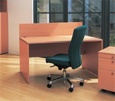 画像1: カウンターデスク W1200mm おしゃれな受付カウンター オフィス 実力のfantoni イタリア家具