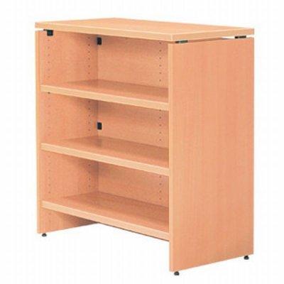 画像2: ハイカウンター W900×D450 Garage 木製 受付カウンター 白木