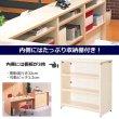 画像3: ハイカウンター W900×D450 Garage 木製 受付カウンター 白木 (3)